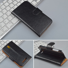 Crazy Horse Leather Case For HTC Desire SV T326E Wallet Cover with ID Card Slots and Stand 4 Colors in Stock