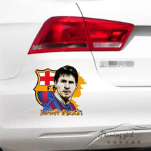 Car Stickers Argentina Lionel Messi Famous Football Player Soccer Creative Decals Waterproof Auto Tuning Styling 15x13cm D15