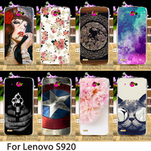Buy TAOYUNXI Smartphone Cases Lenovo S920 5.3 inch S 920 Case Cute Animals Flowers Hard Back Cover Skin Hood Bag Shell for $1.98 in AliExpress store