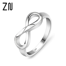 New Fashion Infinity Ring Statement Jewelry Banquet for Women Designer Brand Rings For Women Wedding Party Accessories(China)