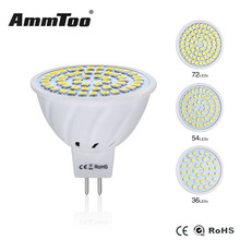 Led Bulb Light MR16 Spotlight GU 5.3 AC DC 10V-30V 12V 4W 6W 8W LED Lamp SMD 2835 LED Candle Luz Lights for Home Indoor Lighting(China)