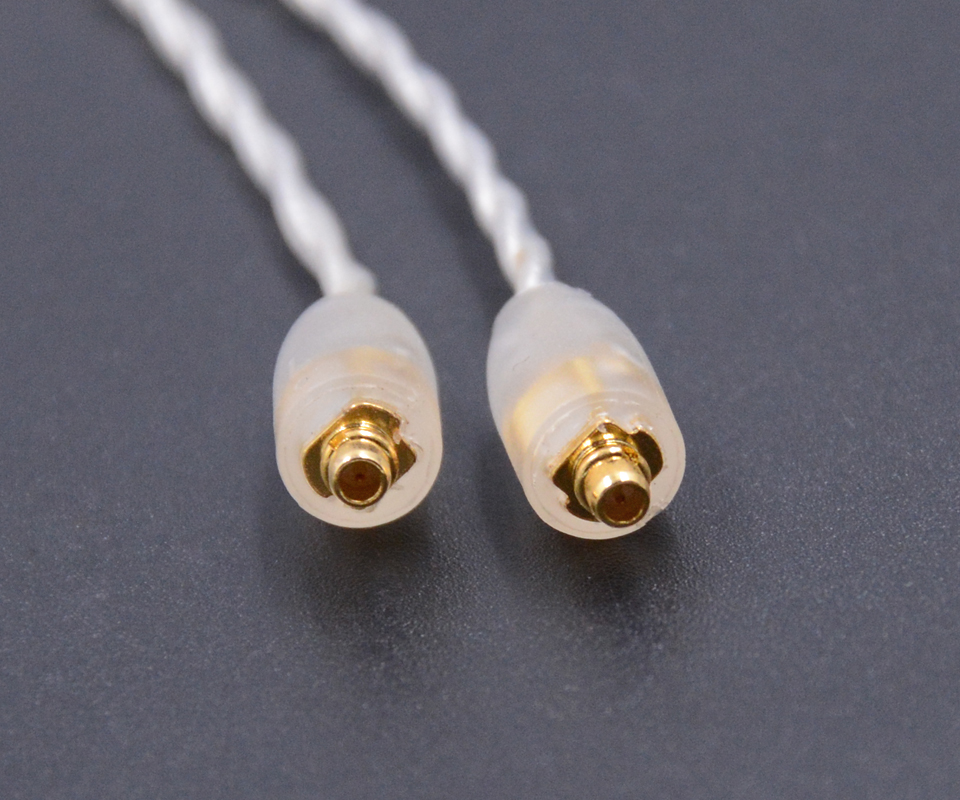 NICEHCK High Quality 2.5mm Balanced 4-Cores Pure Silver Earphone MMCX Cable 4-Pole Jack Plug Use For Astell&Kerns ONKYO OPUS DAP