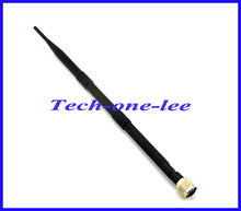 10pcs/lot 4G 9dB LTE Antenna 698-960/1700-2700Mhz 3g 4g lte Aerial with N Plug Connector nickelplated Free shipping