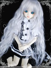 BJD / SD doll clothes / baby clothes black and white lady dress suite  fit BJD 1/3 BJD 1/4