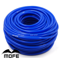 4mm Silicone Hose 5 Meters Silicone Vacuum Hose Tube Silicone Tubing Blue Black Yellow Red(China)