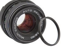 Aluminum M42 to M39 Camera Lens Adapter Ring 42mm to 39mm Thread Mount (M42-M39)