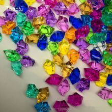 250pcs Acrylic Crystal Stone Artificial Ice Cubes Home Garden Aquarium Decor DIY Accessories Wedding Decoration Confetti
