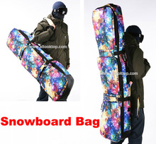 Professional snowboard board handbag starry sky  monoboard snow bag mountain skiing boots waterproof shoulder protective bag big