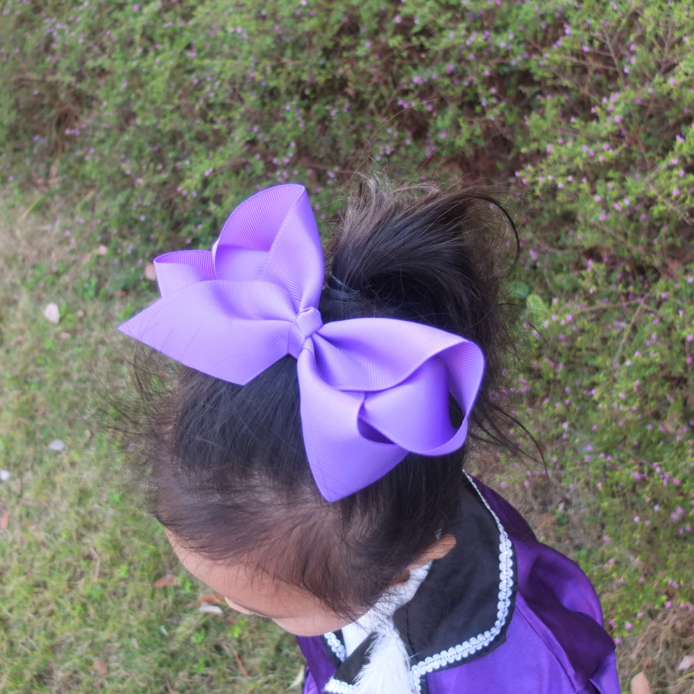 5 PCS 6 inch Extra large hair bow WITH clips Baby Teens Girl Hairbows Hair clips Boutique Dancing bows Hairpins Hair accessories<br><br>Aliexpress