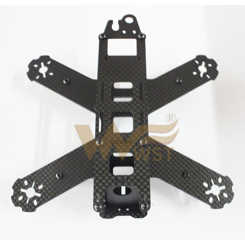 QAV180 210mm 4mm 3mm All carbon fiber Frame for 180 210 QAV180 QAV210 Quadcopter Racing frame Crossing frame<br><br>Aliexpress