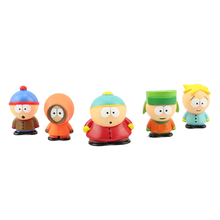 Discount style Anime South Park Stan Kyle Eric Kenny Leopard Mini 6cm PVC Action Figure Collectible Model Toy Kids Gifts