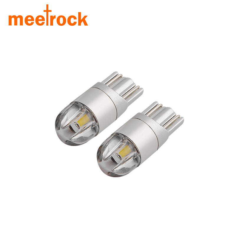 Meetrock 2 pcs T10 LED car light SMD 3030 marker lamp w5w 194 501 bulb wedge parking dome light canbus auto car styling 12v 24v<br><br>Aliexpress