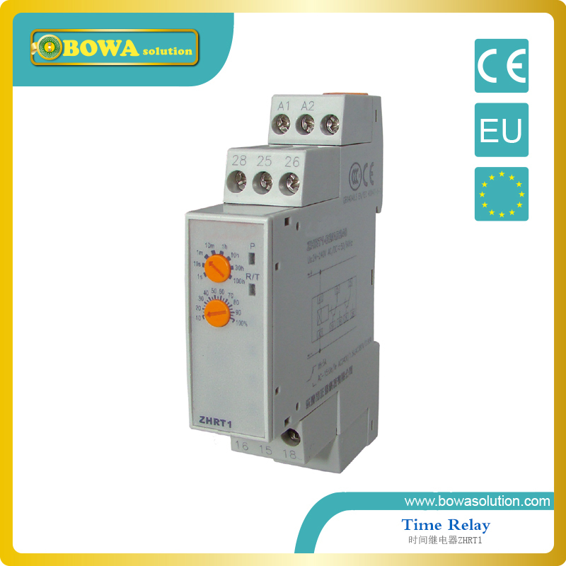 Time Delay for electrical control circuit ZHRT-M2/M2T(D12/24/A110/220/380)<br>