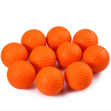 50pcs/100pcs/200pcs Foam Sponge Golf Practice Balls Indoor &Outdoor Practice with 2 colors available(China)