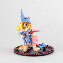 Anime model figure Yu-Gi-Oh! Mana collection model toy Dark Magician Girl kneeling position Decoration with box PVC T7739