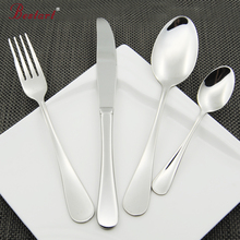 Wholesale 48 Piece Rain Cutlery Set 18/8 Stainless Steel , Bead Silverware, Service For 12,Mirror Finish Use For Restauran