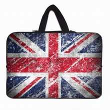 "Union Jack Handle 7 inch Tablet Inner Sleeve Case Pouch Bags For Apple iPad Mini 7.9"" Neoprene Netbook Laptop Soft 8"" 8.1"" Bag"