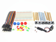 Smart Electronics Starter Kit For arduino uno r3 mini Breadboard LED jumper wire button