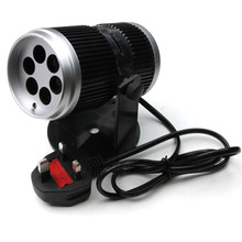 1PC New 4 Pattern Rotating Laser Light Projector For Christmas Birthday Party Halloween's Day Holiday Projector Decoration Light(China)