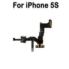 New Front Camera Flex Cable Proximity Sensor Light And Mic Flex Cable Replacement Parts For iphone 5S Front Camera Flex Cable(China)