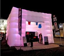 5m Exhibition Show Inflatable Stand Inflatable Cube Tent for Advertisement