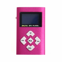 MP3 Player LCD Screen Mini USB Support 32GB Micro SD TF Card Slot Digital mp3 music player design Sport Compact(China)
