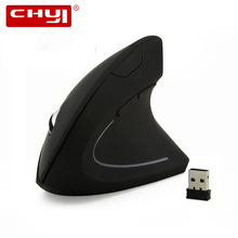 CHYI Wireless Mouse Ergonomic Vertical Mouse Optical Mice 800/1200/1600 DPI Wrist Healing Computer Mice For PC Laptop Desktop(China)
