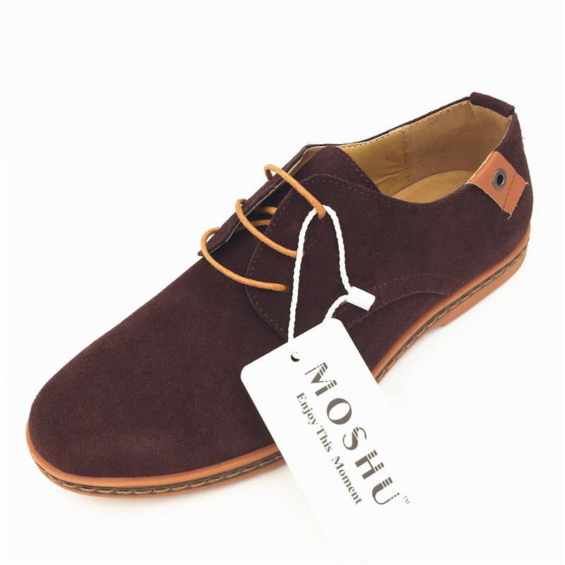 Classic Men Flats Gentleman Oxford Genuine Leather Dress Shoes Men Flat Shoes Luxury Casual Shoes Size 39-47 16