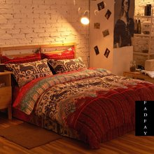 Modern Boho Bedding Set, Branded 100% Cotton Home Choice Bed Set, Fashion Bohemian Bed Covers