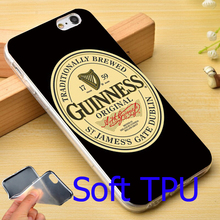 Band Beer Guinness TPU Phone Case for iPhone 5S 5 SE 5C 4 4S 6 6S 7 Plus Cover ( Soft TPU / Hard Plastic for Choice )