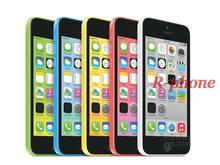 "Original iPhone 5C Mobile Phone Dual Core 4"" 8MP WIFI GPS 3G iPhone 5C Unlocked Smartphone Used Cellphone(China)"