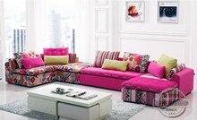 U BEST Bunte Stoff Sofagarnitur Set Mode Wohnzimmer Abschnitt Sofa, Modernes  Sofa