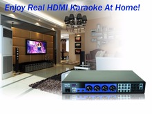 6TB HDD Karaoke Jukebox Machine Player, Professional Home karaoke ,HDMI, Suport Dual Hard Drive, Tablet/ipad/iphone(China)