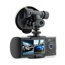 Car Vehicle DVR Data Recorder Automobile Data Recorder Dual HD Camera Dual Wide Angle With GPS Trajectories Data(China)