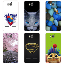 "For Huawei Honor Ascend G600 G 600 U9508 U8950D Case Cover Flowers Scenery Hard PC Phone Cases For huawei u9508 4.5"" Back Cover(China)"