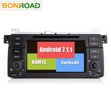Android 7.1.1 Car DVD Player for E46,M3,GPS Navigation,Wifi,4G LTE,BT,Canbus,Radio,RDS,1G RAM,OBD2 DVR supported(China)