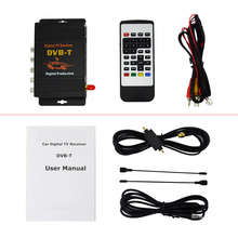 Car Four Tuner Way Single Antenna DVB-T(MPEG-4) External Digital mobile TV receiver