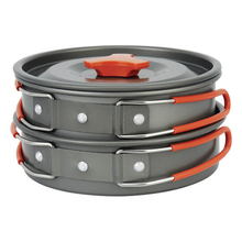 Outdoor Tool Camping Hiking Equipment Cooking Gear Portable Cookware Picnic Bowl Pot Pan Aluminum Alloy