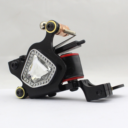 Professional Handmade Tattoo Machine 10-Wrap Coils  Iron Cast Frame Custom  Tattoo Gun For Liner Shader Free Shipping TM-813<br>