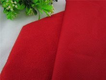 1 meter Red hook fabric for DIY sewing Stuffed toy sofa furniture material Warp knitted brushed Plain Loop velboa velvet