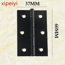60*37mm black hinges for wine gift case decorative wooden jewelry case hinges wholesale packaging hardware hinge accessories