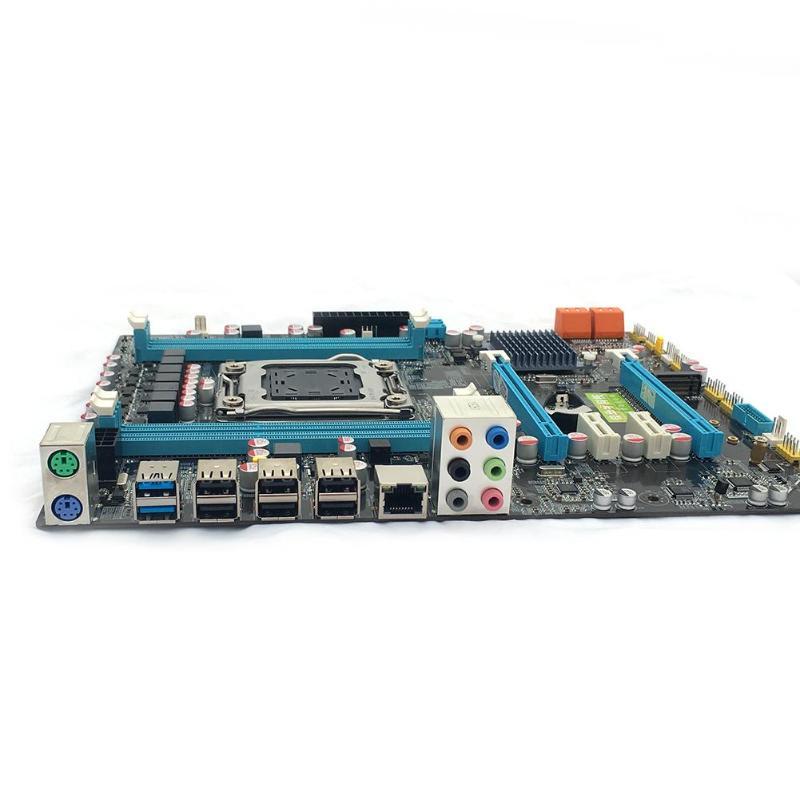 Интернет магазин товары для всей семьи HTB1IRexayHrK1Rjy0Flq6AsaFXat VAKIND X79 материнской Золотой LGA2011 ATX USB3.0 SATA3 PCI-E NVME M.2 SSD Поддержка 4xDRR3 DIMM ECC REG памяти/Xeon E5 процессор