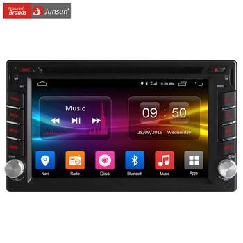 Junsun 4g lte universal 2 din car dvd player gps Radio Android 6.0 Wifi Bluetooth GPS de Navegación doble din car multimedia