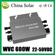 Home use grid tie solar system with micro inverter 600W(China)