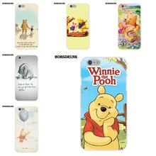 BobSdrunk Winnie Pooh Lovely Quotes TPU Protector Phone Cases For Apple iPhone 4 4S 5 5C SE 6 6S 7 8 Plus X(China)