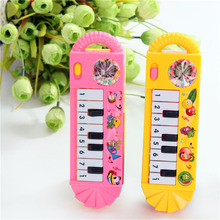 1PC Kids Early Educational Toy Musical Instrument Mini Piano Toy Cartoon Baby Toddler Boys Girls 0-7 Years Old  Color Random