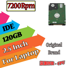 "2.5""  IDE PATA 120GB 120g ide 7200RPM Internal Hard Disk Drive laptop notebook hdd ide  Free Shipping screw driver free 7200"
