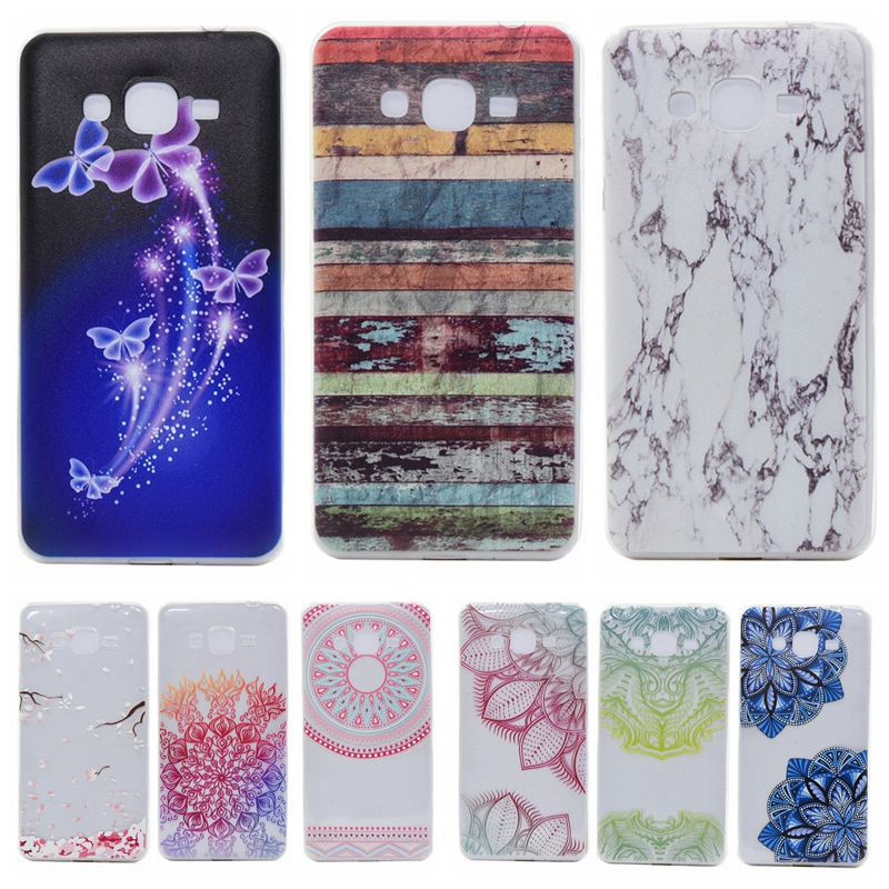 Colorful TPU Case sFor Coque Samsung Galaxy Grand Prime G530 G530H G5306 G530W G5308W G531 G531H SM-G531F Soft Transparent Cover