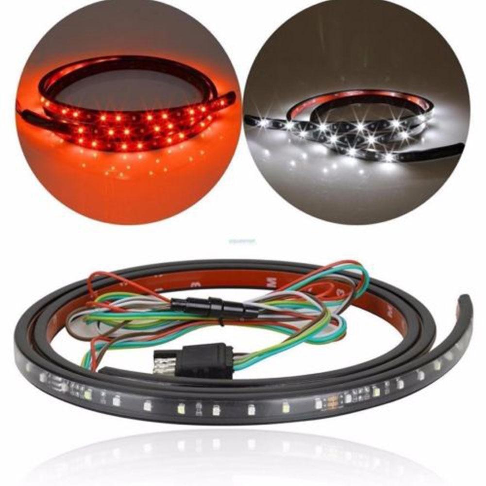 60 Inch Car Truck Flexible LED Strips Tailgate Bar Brake Reverse Signal Light<br><br>Aliexpress