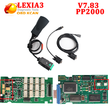 Lexia3 Diagbox 7.83 Lexia 3 PP2000 V48 Diagnostic Tool Lexia3 PP2000 V48/V25 With Muliti-Language for citroen Free Shipping(China)